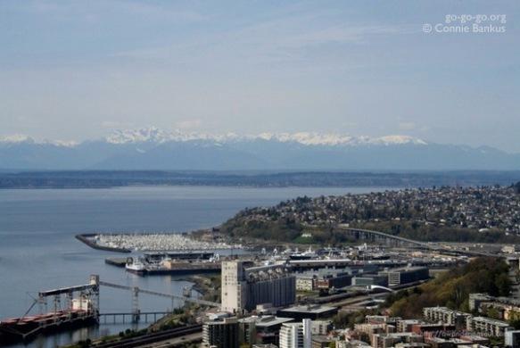 A Quick Trip To Seatle: Coastline by Connie Bankus