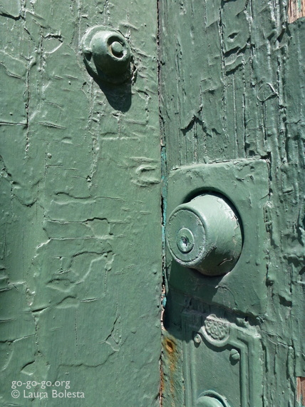 Everyday Photo: Green Door by Laura Bolesta