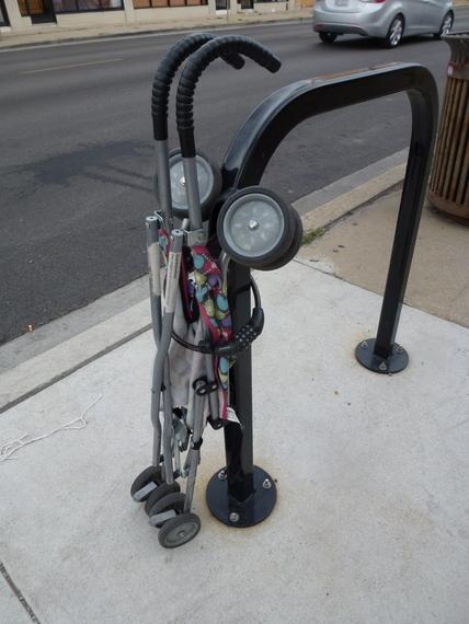 Everyday Photo: Stroller Lockdown