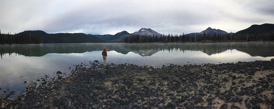 Early morning at Sparks Lake
